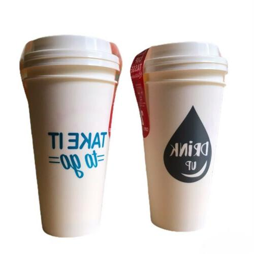 4pk Cups With Microwave Safe