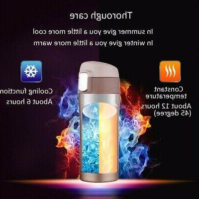 500ML Coffee Tea Travel Mug Vacuum Flask Water US