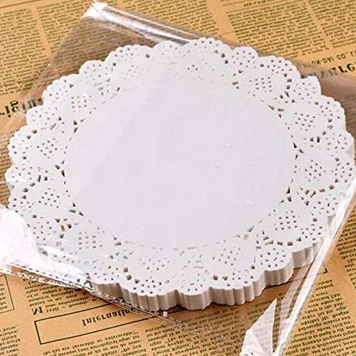 6 set paper lace doilies