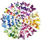 72 Pcs 3D Wall Decal Butterfly Wall Sticker Decals for Room