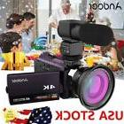 Andoer WiFi 4K HD 1080P 48MP Digital Video Camera Camcorder
