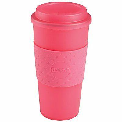 Copco 2510-0410 Acadia Travel Mug, 16-Ounce, Translucent Pin