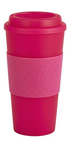 Copco 2510-0410 Acadia Travel Mug, 16-Ounce, Translucent Pin