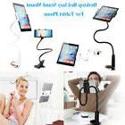 Universal Flexible Arm Desktop Bed Lazy Holder Mount Stand f