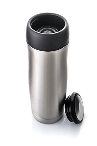 Highwave JOEmoXL 16 oz. Stainless Steel Travel Mug