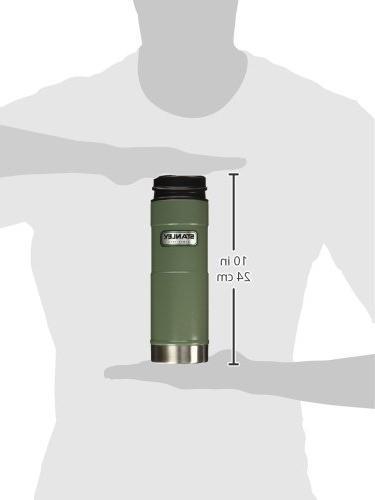 Stanley Classic Hand Vacuum Mug Hammertone Green