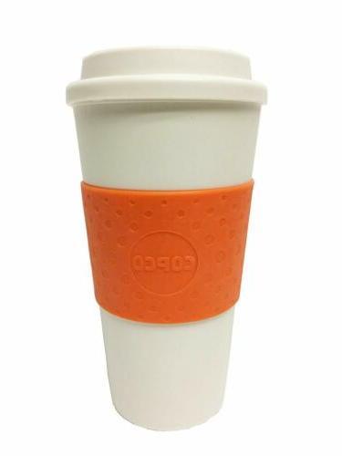 Copco Acadia Plastic Insulated Traveler Coffee Mug 16 Oz, Go