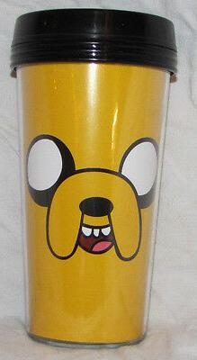 ADVENTURE TIME TRAVEL MUG COFFEE THERMOS HOME KITCHEN HOT JA