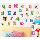 Alphabet & Animals Vinyl Mural Wall Stickers Baby Kids Room
