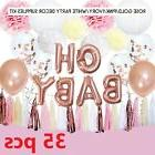 Baby Shower Decorations for Girl OH Baby Banner Garland Lant