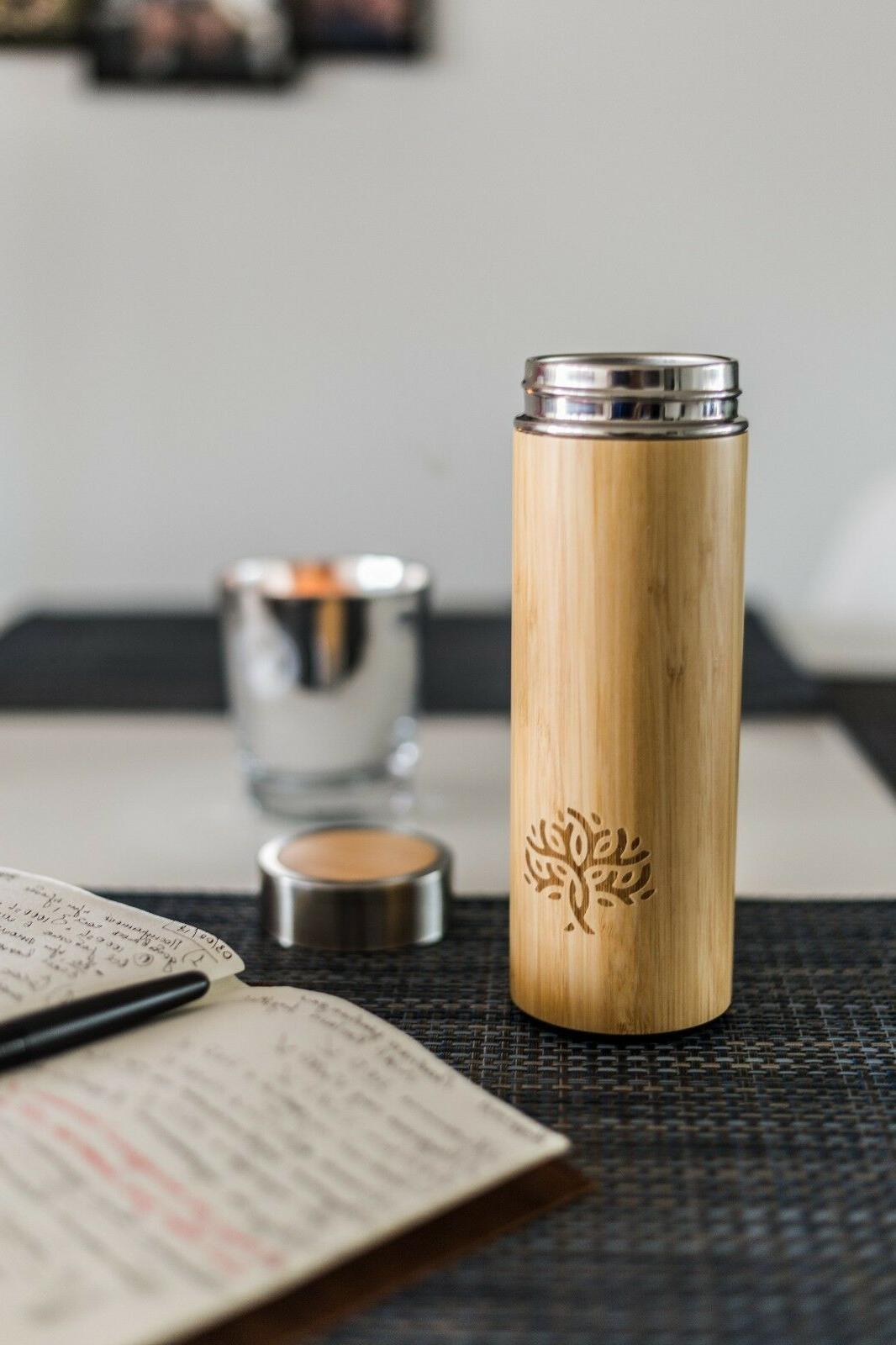 best bamboo tea infuser thermos and coffee