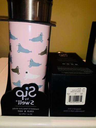 Brand New Swell Insulated Cold & Hot Travel Mug Dream/Seal/Dashing