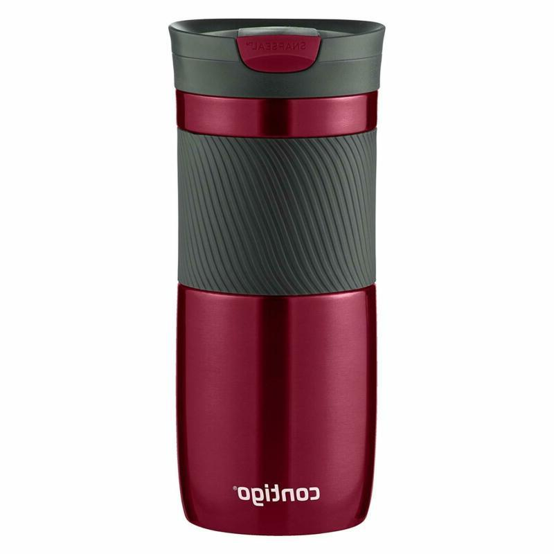 Contigo SnapSeal Vacuum-Insulated Travel 16 Spiced and Storm