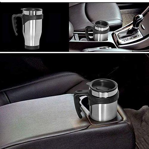 ONEB Cup,Travel 500ml With Steel Travel Coffee Insulated Thermos Mug, Coffee, Milk Airtight Lid,