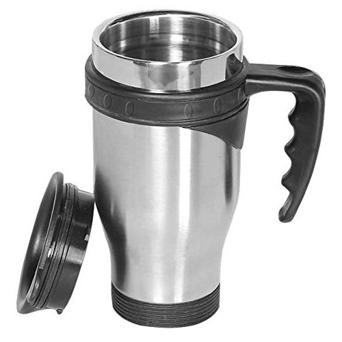ONEB 500ml handle Steel Coffee Cup Insulated Milk Airtight