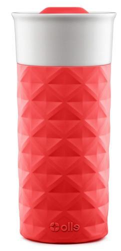 ceramic travel mug for car with Lid hot cold beverage cooler