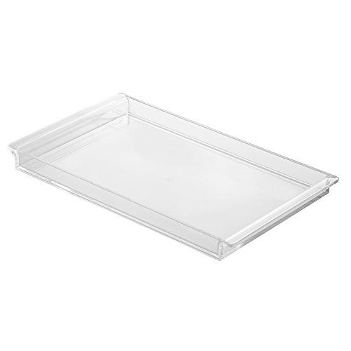 clarity tray vanity cabinet hold