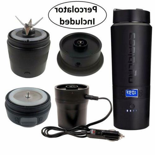 Cauldryn Coffee Mug Blender, Percolator, Grinds Brews, App
