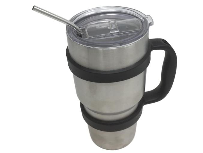Coffee Travel Cold Drink Double Steel 30 oz