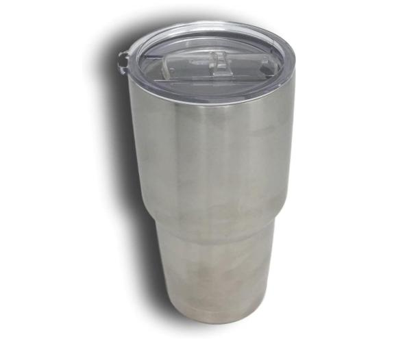 Coffee Cold Drink Tea Cup Double Stainless 30 oz
