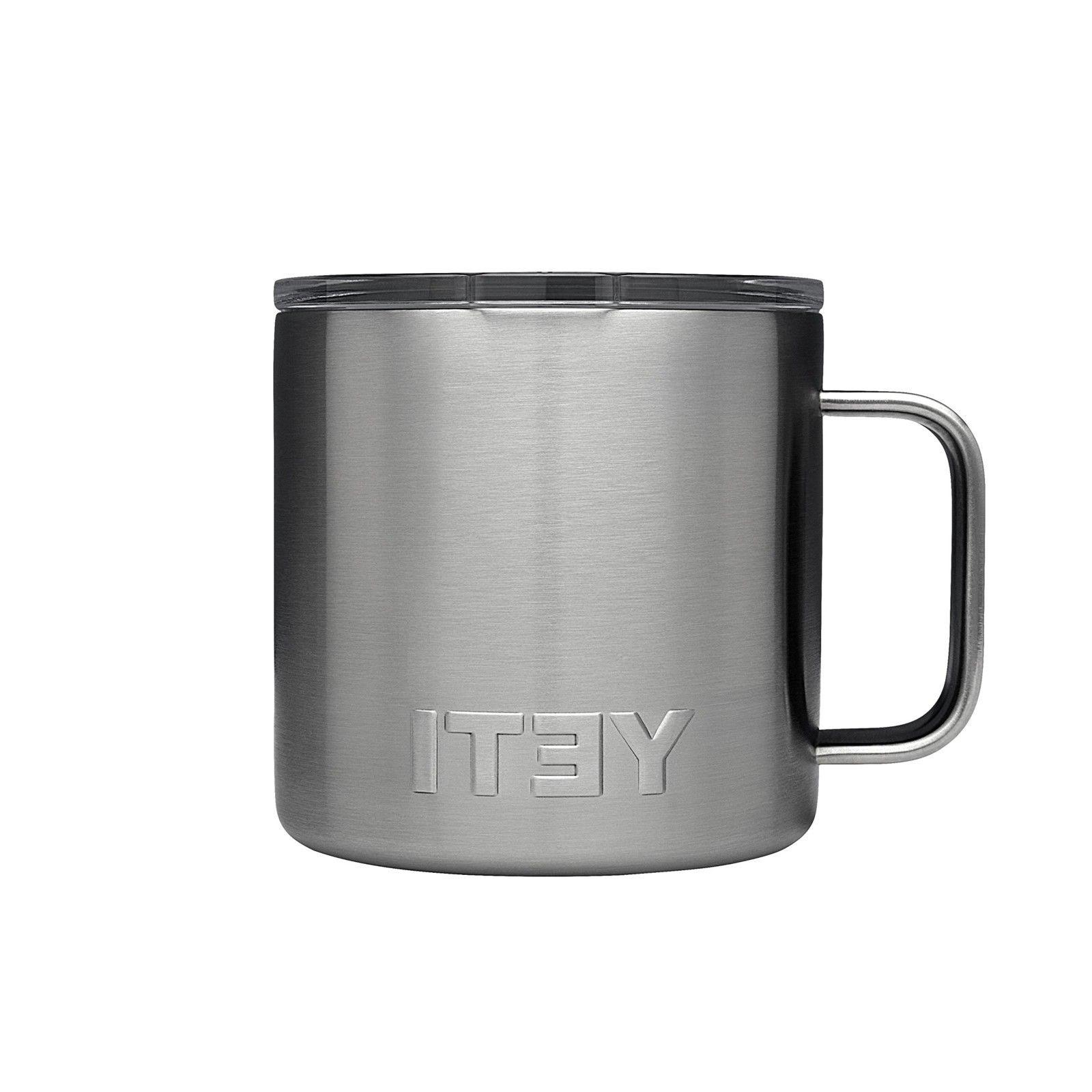 Yeti Coffee Travel Mug Reusable Small Dark Roast Cold Brew S