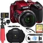 Nikon COOLPIX B500 16MP 40x Zoom Wi-Fi Digital Camera  64GB