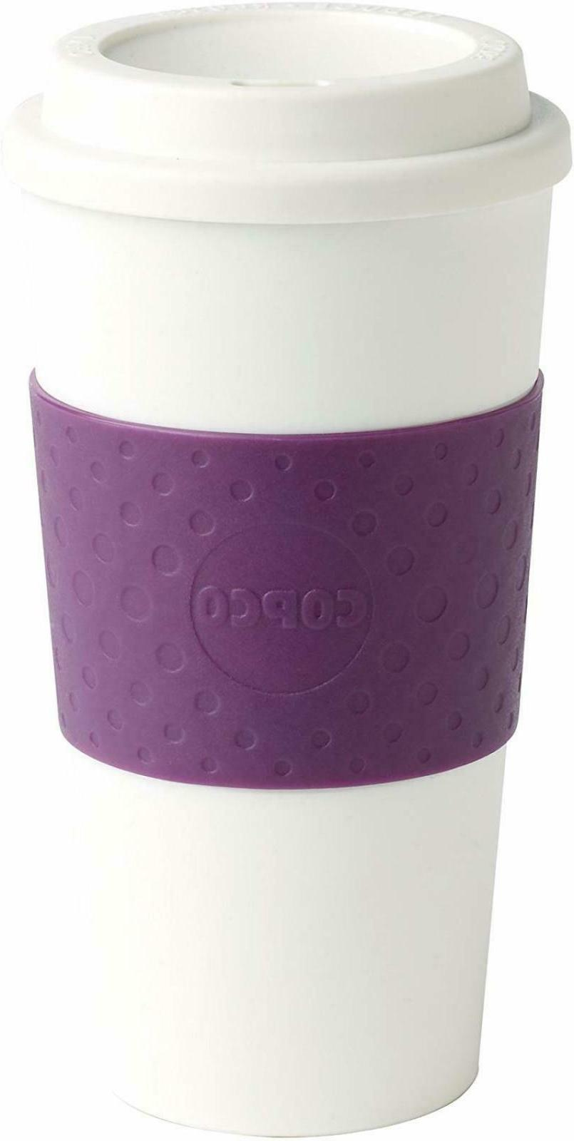 Copco 16-Ounce Plum BPA Free Double Walled Acadia Travel To
