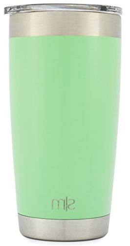 Simple 20oz Tumbler Vacuum Insulated Double Flask - 20 ounce 18/8 Stainless Travel