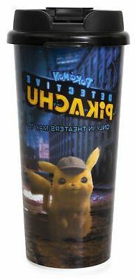 Detective Pikachu Travel Mug, Insulated