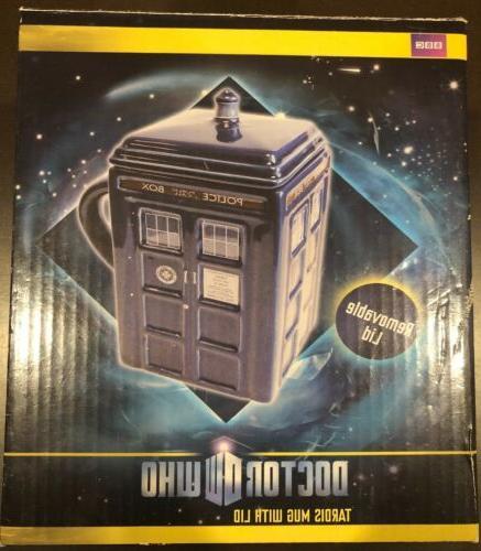doctor who figural tardis mug 17 oz