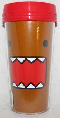 DOMO NATION KUN TRAVEL MUG COFFEE THERMOS HOME KITCHEN HOT J