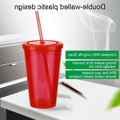 A1809 Travel Cup/Mug w/ & Straw Cups 16