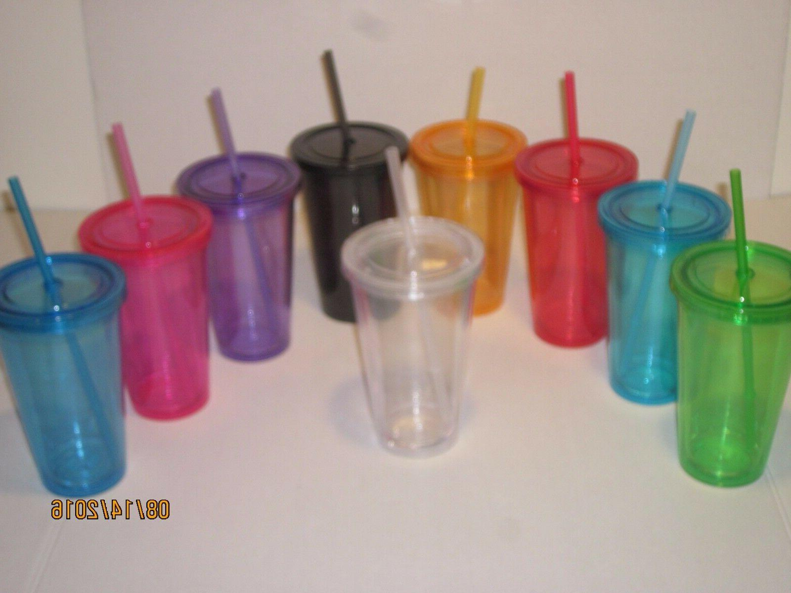 Double Tumblers - w/ BPA Cups