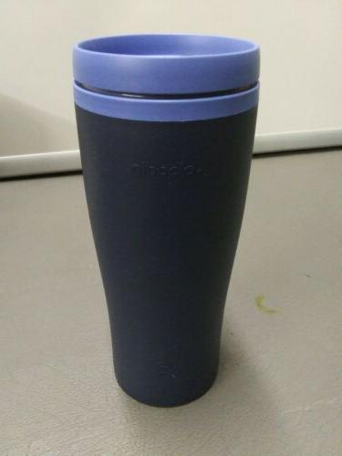 ecycle reusable 16oz insulated travel mug new