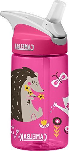 CamelBak Eddy Kids Water Bottle, Hedgehogs, .4 L