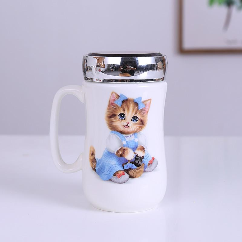 Exquisite Cup <font><b>Mugs</b></font>,Ceramic Handgrip for