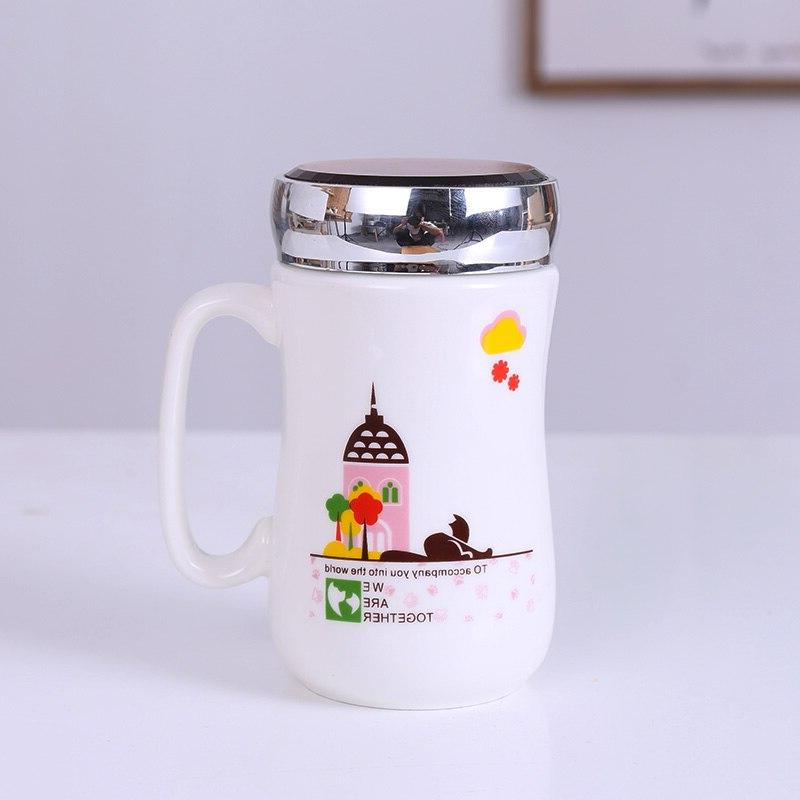 Exquisite Coffee Cup Europe <font><b>Mug</b></font> Handgrip 450ml for
