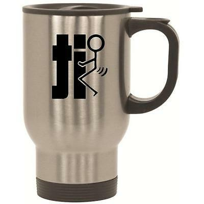 F#Ck It Stainless Steel Travel Mug  by BeeGeeTees