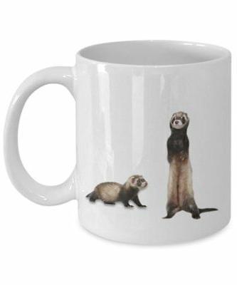 Ferret Funny Coffee - Birthday...