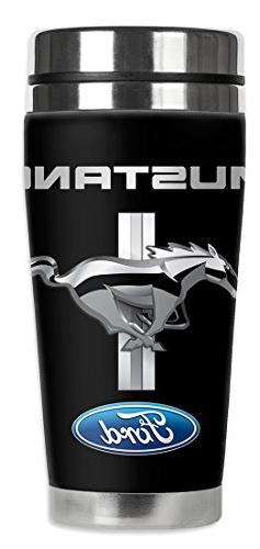 ford mustang logo mug