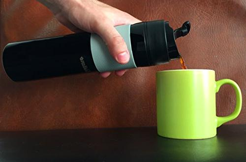 Portable French Press Coffee Maker - Travel Mug and Tea and Coffee Commuter -