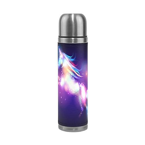 galaxy unicorn water bottle stainless