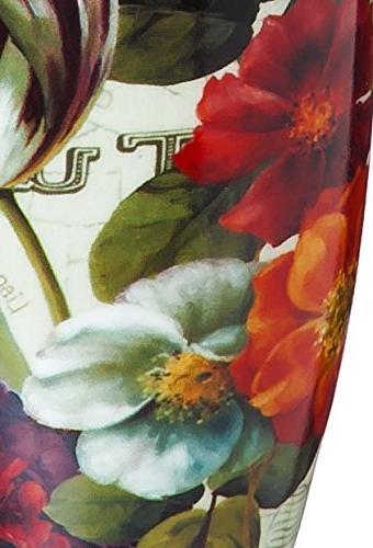 Garden View Ceramic Coffee Travel Mug Gift Box Gifted Living