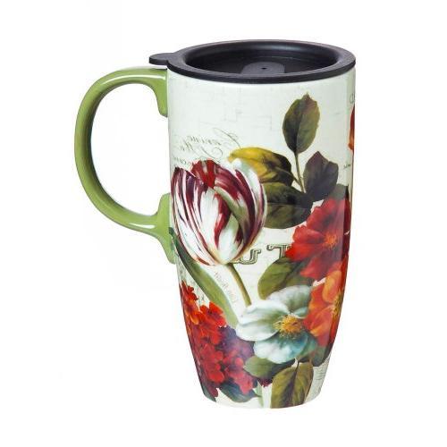 Garden Coffee Mug with Gift Box by Living
