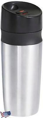 OXO Good Grips Double Wall Travel Mug, Silver