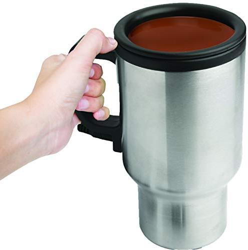 12V Mug Insulated Steel Coffee Drink Thermos Drinks