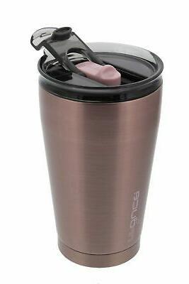 reduce Thermal Travel Mug 16oz Satin Finish,Copper Pink