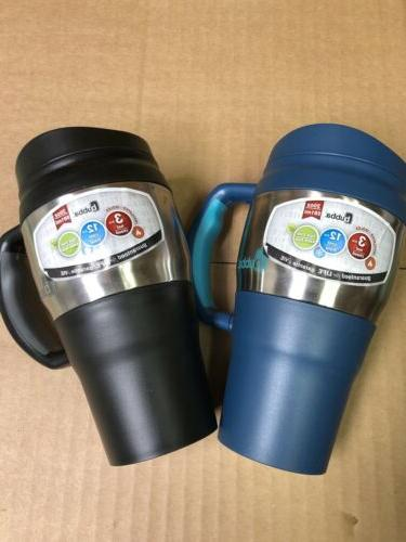 Bubba 20 oz Travel Insulated Coffee Mug Cup Classic BLACK Po