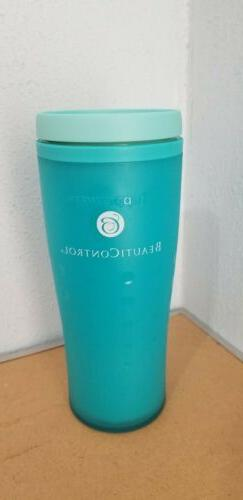 Tupperware Insulated Commuter Mug Travel 16 oz Aqua Blue Bra