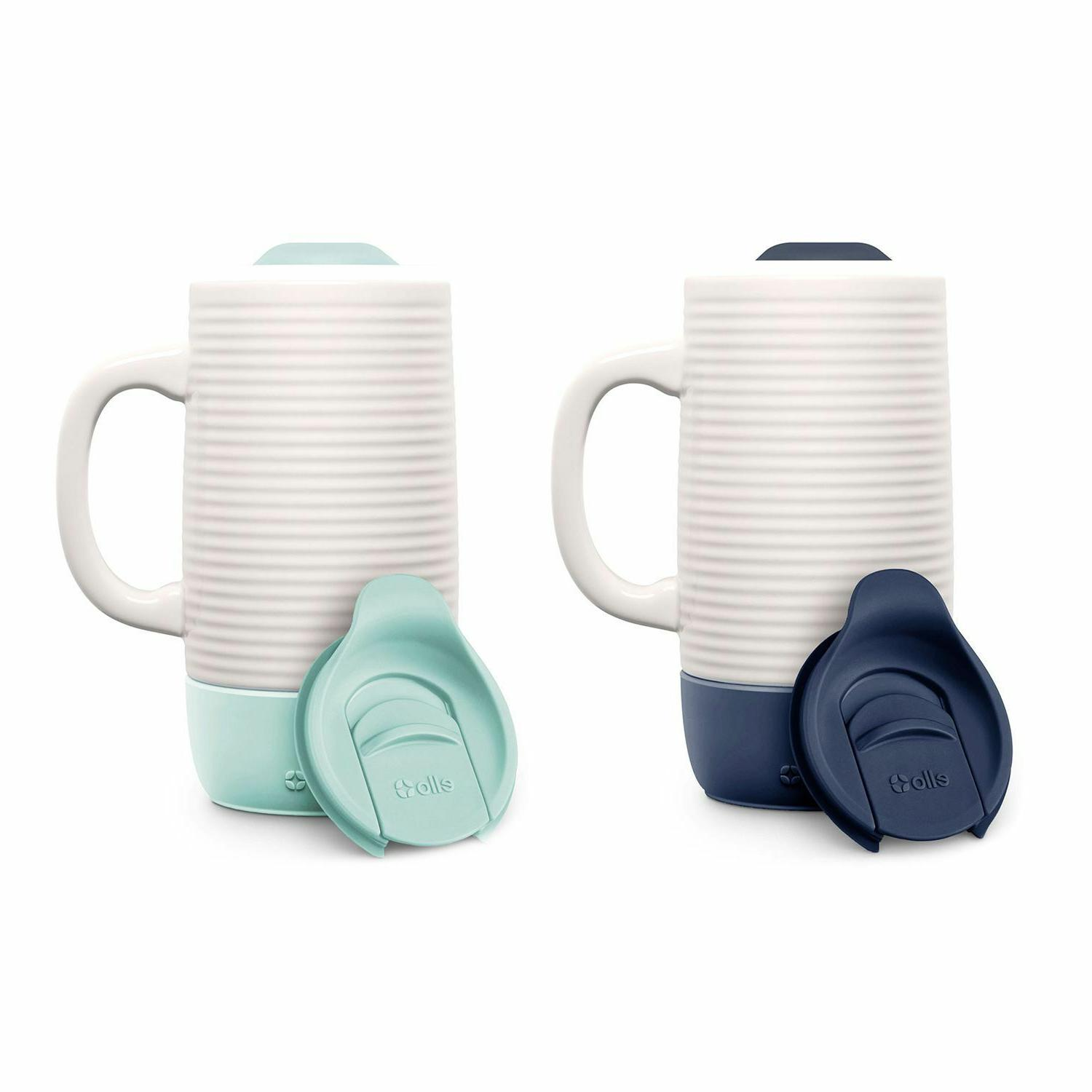 Ello Ceramic Travel Mug 2 Pack *BEST